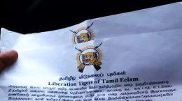 LTTE handbills