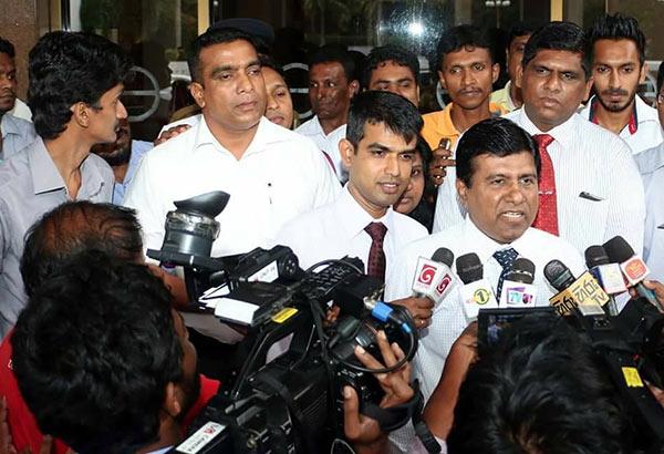 Wijeyadasa Rajapaksa sacked