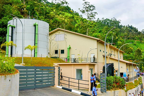 Badulla Hali Ela and Ella integrated water supply project