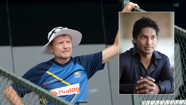 Graham Ford and Kumar Sangakkara