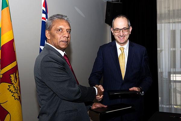 Michael Pezzullo and Kapila Mudantha Waidyaratne