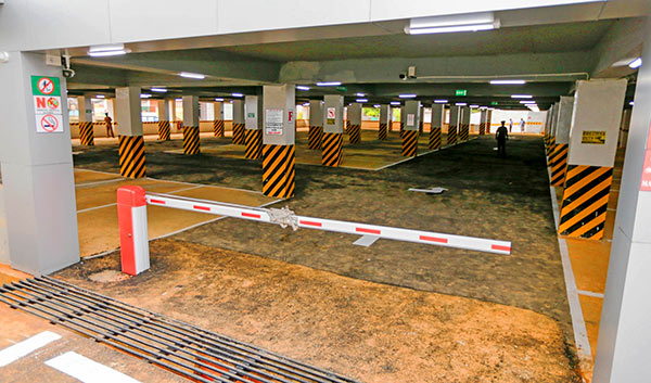 New car park for the city of Badulla