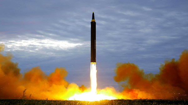 North Korea has fired a ballistic missile across Japan