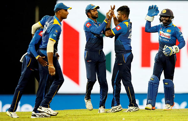 Sri Lanka Cricket team in 2017