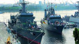 Sri Lankan naval ships Sayura and Sagara