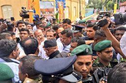 Sri Lanka President Maithripala Sirisena in Jaffna