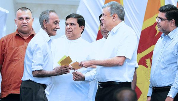 Sri Lanka Prime Minister Ranil Wickremasinghe is at Kolonnawa