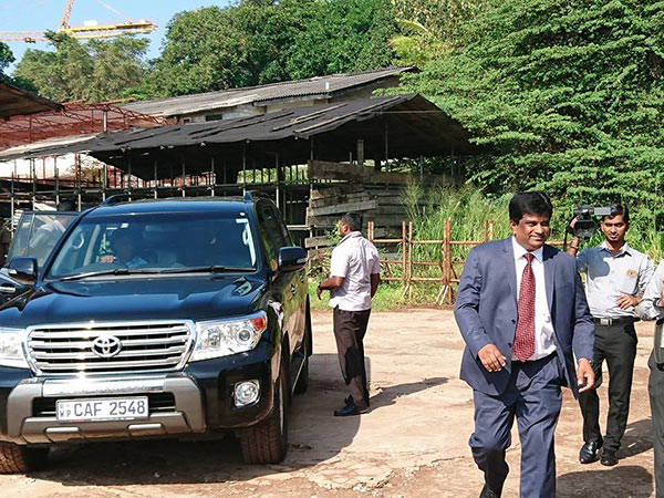 Ajith P Perera is at bond commission