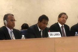 Dr. Harsha De Silva in Geneva