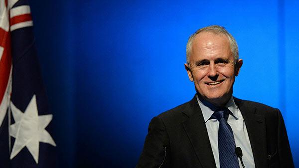 Australian Prime Minster Malcolm Turnbull