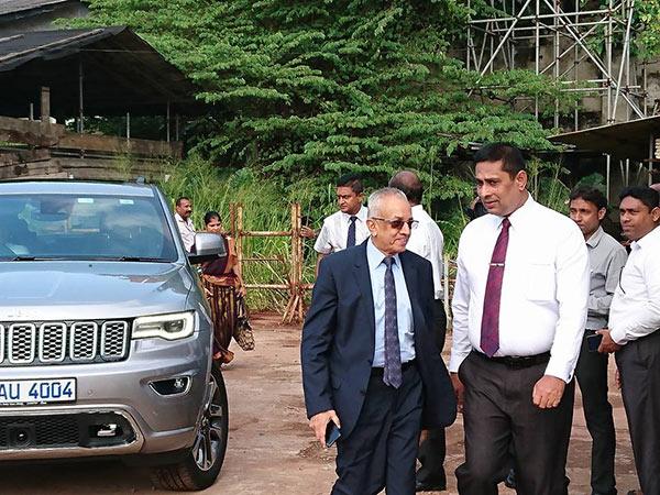 Malik Samarawickrema is at bond commission