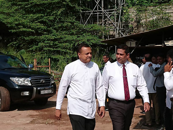 Minister is at bond commission