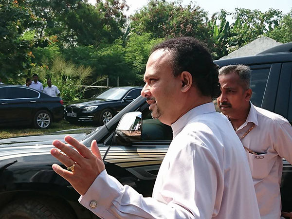 Naveen Dissanayake is at bond commission