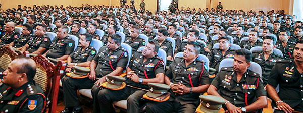 officers of the Sri Lanka Army