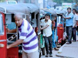 Petrol crisis in Sri Lanka