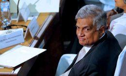 Sri Lankan Prime Minister Ranil Wickremesinghe