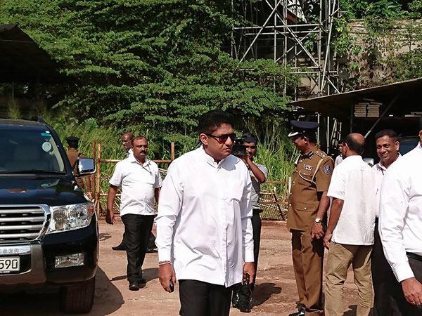 Sajith Premadasa is at bond commission