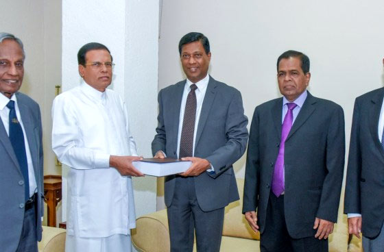 Bond commission report in Sri Lanka