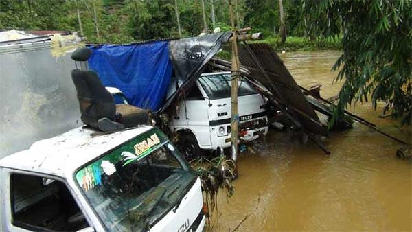 Flood storm in Sri Lanka