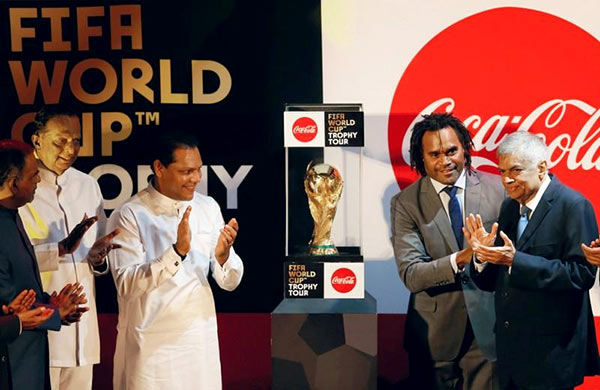 FIFA World Cup arrives in Sri Lanka to kick off global tour
