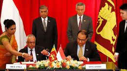 Free trade agreement between Singapore and Sri Lanka