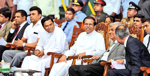 Largest haul of seized cocaine destroyed in Sri Lanka under the supervision of President Maithripala Sirisena