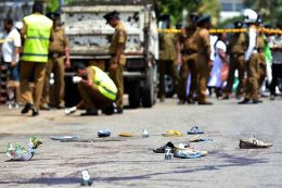 Police shooting in Kataragama Sri Lanka