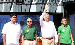 Sri Lanka Prime Minister Ranil Wickremasinghe is at 71st convention of United National Party