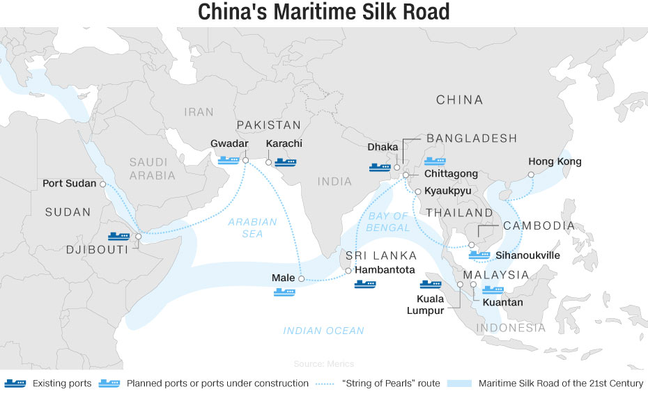 China maritime silk road