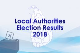 Local authorities election results - 2018