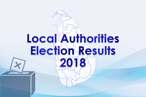 Sri Lanka Local authorities election results - 2018