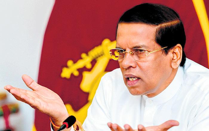 Sri Lanka President Maithripala Sirisena