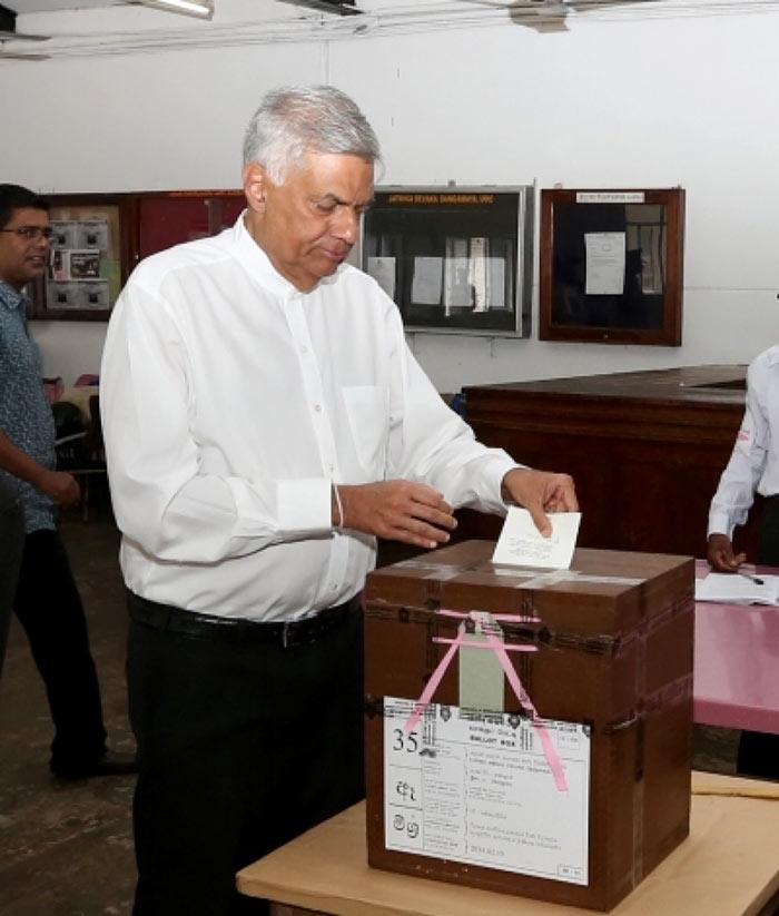 Sri Lanka Prime Minister Ranil Wickramasinghe
