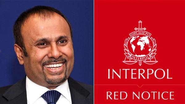 Interpol Red Notice for Udayanga Weeratunga