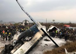 Bangladeshi plane crashes in Nepal
