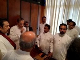 Joint opposition MPs met Speaker Karu Jayasuriya
