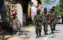 Special task force STF in Kandy Sri Lanka