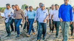 Sri Lanka President Maithripala Sirisena in Muthurajawela