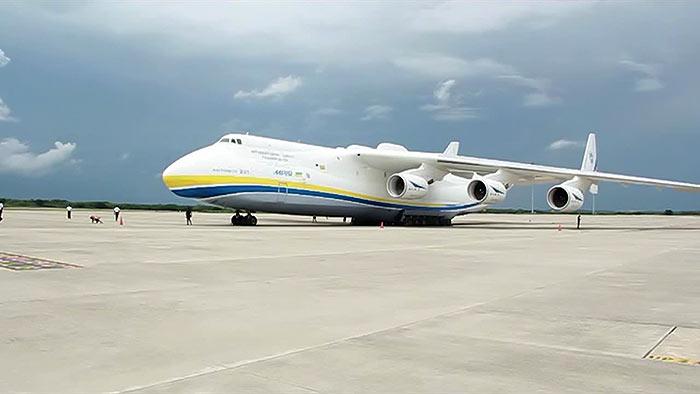 Antonov AN 225 at Mattala