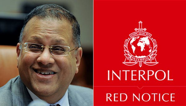 Arjuna Mahendran Interpol red notice