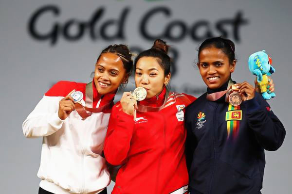 Dinusha Hansani wins bronze for Sri Lanka at Commonwealth games