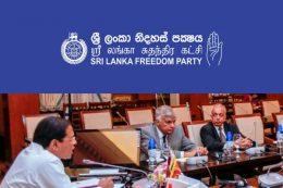 SLFP - Sri Lanka freedom party vs Ranil Wickremasinghe