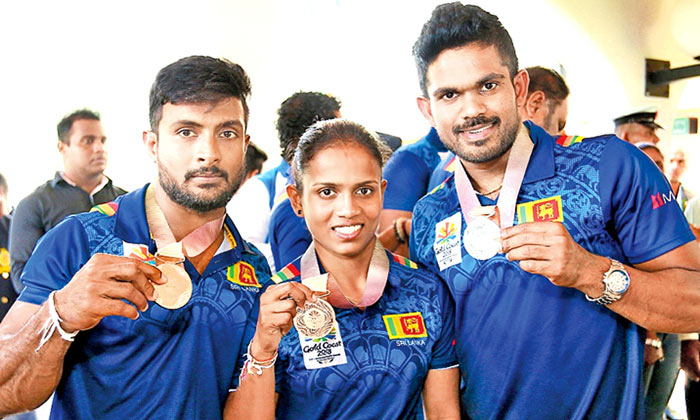 Sri Lankan medallists at the 21st Commonwealth Games