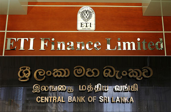 ETI Finance Limited and Central bank of Sri Lanka