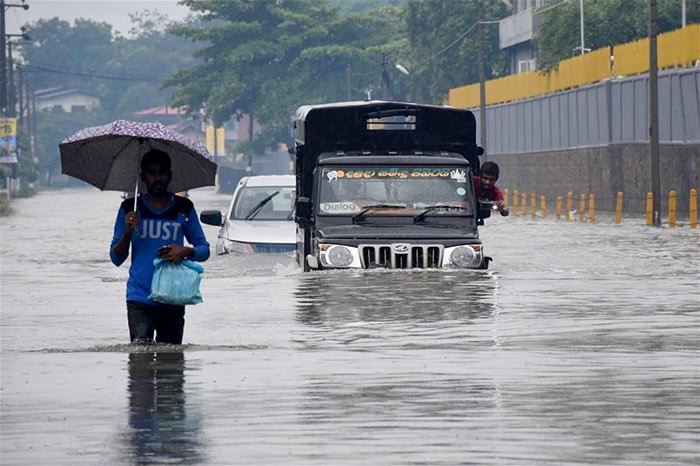 Flood in Sri Lanka