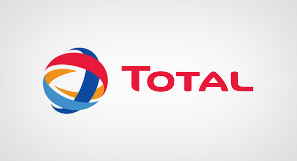 French oil total logo
