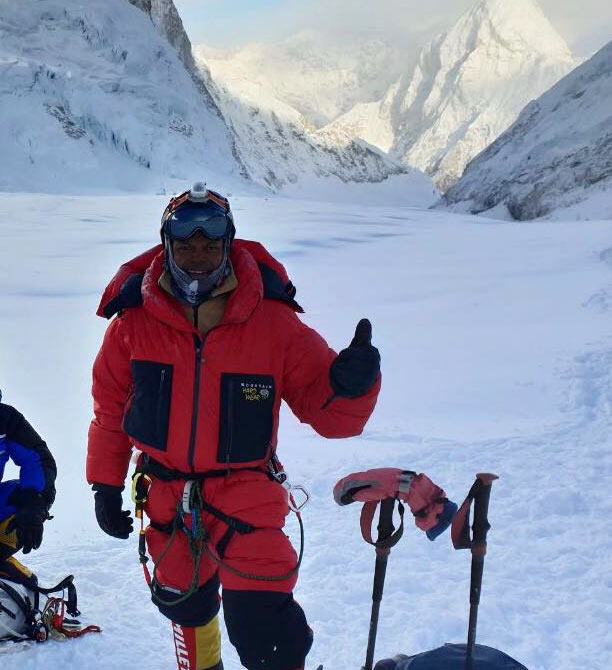 Johann Peries - Sri Lanka Everest mount climber