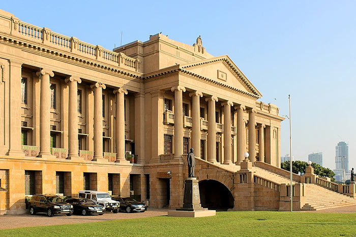 Presidential Secretariat in Colombo Sri Lanka