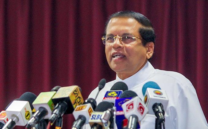 Sri Lanka Presiden Maithripala Sirisena