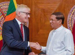 The Director General of the IRRI Dr. Matthew Morell has met Sri Lanka President Maithripala Sirisena